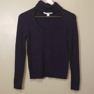 Diane Von Furstenberg Gracey cut out sweater